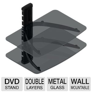 TygerClaw DVD Double Shelf