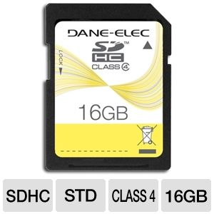 Dane-Elec 16GB SDHC Card
