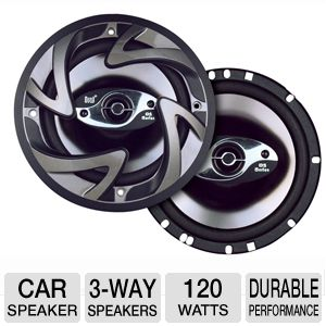 Dual DS653 3-Way Coaxial Car Speaker