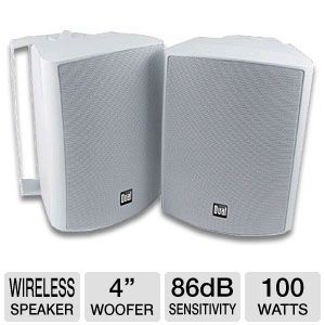 Dual LU43PW Indoor-Outdoor Speakers