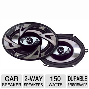 Dual DS573 2-Way Triaxial Car Speaker