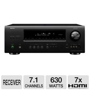 Denon AVR-1912 7.1 Multi-Source A/V Receiver