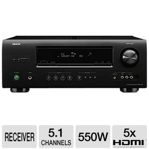 Denon AVR-1312 5.1 Home Theater A/V Receiver