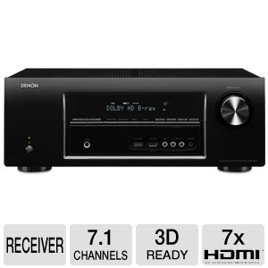Denon AVR1913 7.1 Channel Networking A/V Receiver