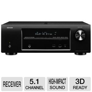 Denon 5.1 Channel Home Theatre Reveiver