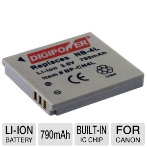 Digipower BP-CN4L Replacement Li-Ion Battery for C