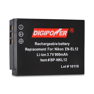 Replacement Li-Ion Battery for Nikon EN-EL12