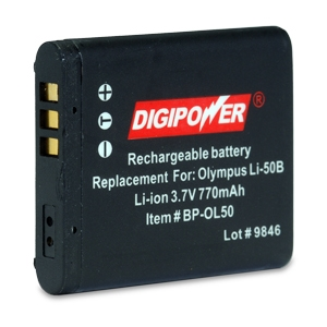 Replacement Li-Ion Battery for Olympus Li-50B
