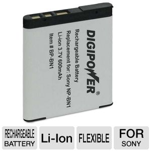 Digipower BP-BN1 Rechargeable Li-Ion Battery