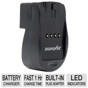 Digipower Travel Charger for Canon DSLR Battery