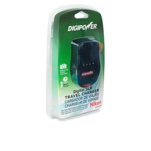 Digipower Travel Charger for Nikon DSLR Battery