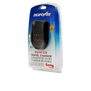 Digipower Travel Charger for Sony DSLR Battery