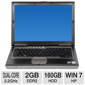 Dell Latitude D630 Core 2 Duo 160GB Notebook PC