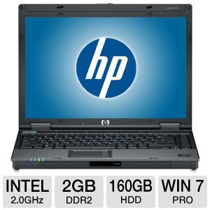 "HP Compaq 6910p 14.1"" Core 2 Duo 160GB Notebook"