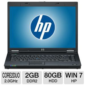 HP Compaq 8510w Core 2 Duo 80GB Notebook