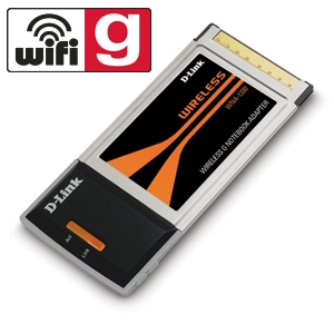 D-Link WNA-1330 Wireless G Notebook Adapter