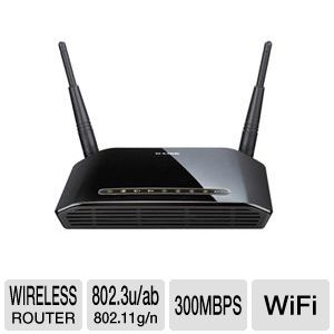D-Link DIR-815 Wireless N 300 Dual Band Router 