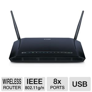 D-Link Wireless 8-Port Router