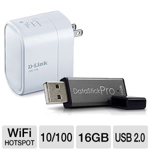 D-Link Companion and Centon Data Stick Bundle