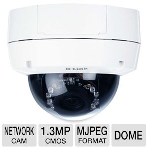 D-Link Fixed Dome Network Camera