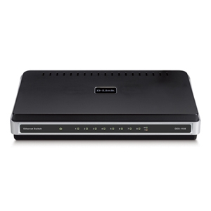 D-Link DES-1108 Network Switch (Recertified)