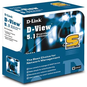 D-Link D-View 5.1 SNMP Network Management System