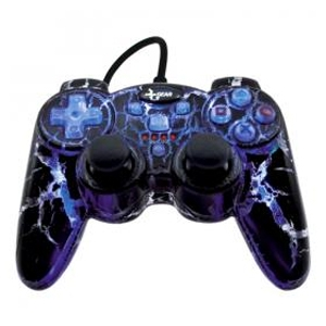 Dreamgear DGPN-466 PS2 iGLOW Controller with 5 Bui