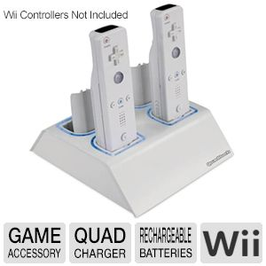 Dreamgear DGWII-1053 Wii Quad Charger   