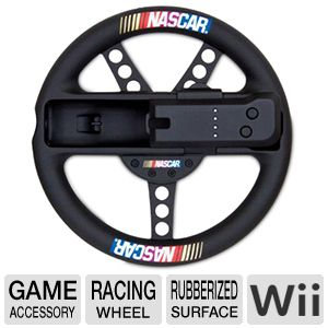 Dreamgear Wii NASCAR Racing Wheel