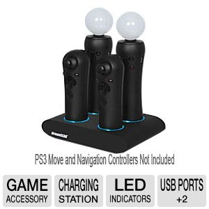 Dreamgear Quad Charger for PS3 Move