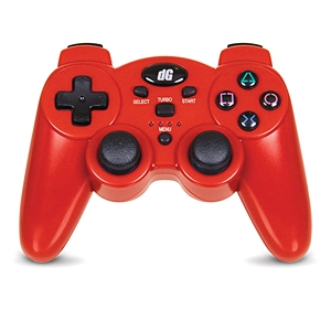 Dreamgear Radium Wireless Red Controller for PS3