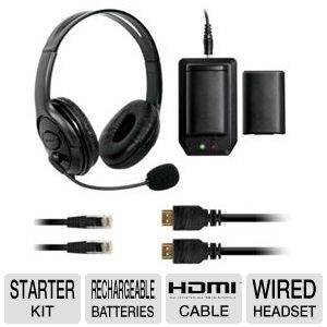 Dreamgear DG360-1706 Xbox 360 6-in-1 Starter Kit