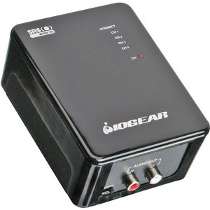Iogear Powerline Stereo Audio Adapter