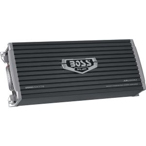 BOSS AR2500M BLACK AMPLIFIER 2500WATT MONOBLOCK MO