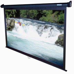 Elite M100UWH 100in 16:9 Pull Down Screen (Black)