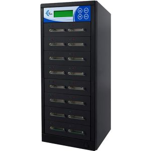 EZ Dupe EZDSD15T 15 copy CF Card Duplicator.