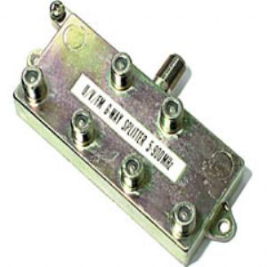 Steren 200-206 6-Way 900MHz F-Splitter