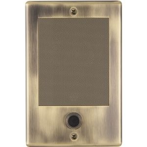 NUTONE DOOR SPEAKER ANT BRASS