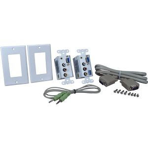 PC AND COMPOSITE AV WALLPLATE