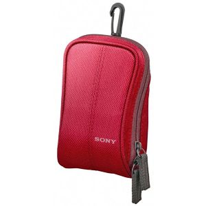 SONY SOFT CARRYING CASE RED