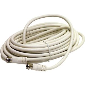 6FT F-F RG6 PATCH CABLE WHT