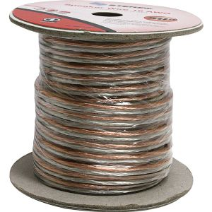 50FT 18AWG 2C SPKR CABLE CLEAR