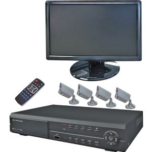 19  LCD WITH 8CH DVR BUNDLE
