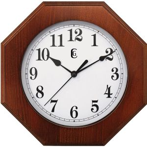 GENEVA WOOD WALL CLOCK
