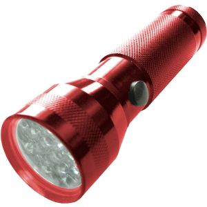 NORLITE 19 LED FLASHLIGHT RED