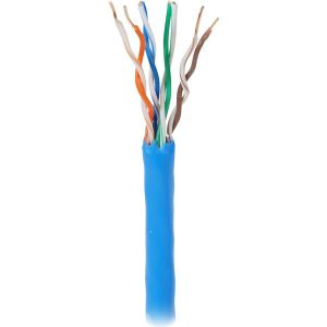 1000 4PR CAT5E UTP CABLE BLUE