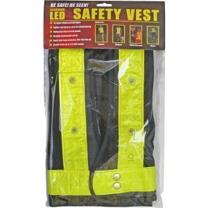 REFLECTIVE SAFETY VEST W/16 LED