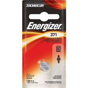 ENERGIZER 371 BATTERY 1-PK