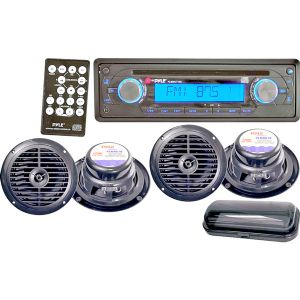 AM/FM IN-DASH MARINE CD PLAYER
