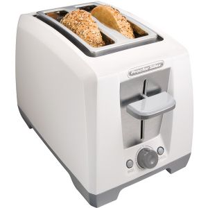 2 SLICE COOL TOUCH TOASTER WH